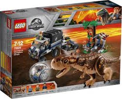 Afbeeldingen van 75929 Gyrobolontsnapping van Carnotaurus