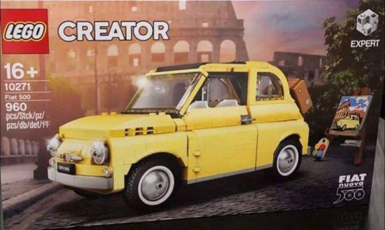 Afbeelding van 10271 Fiat 500